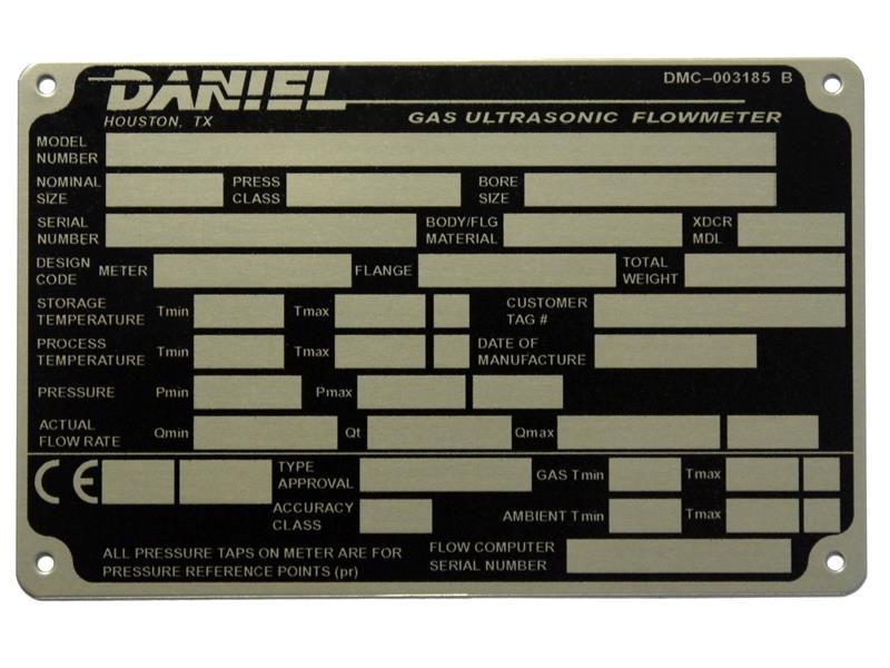 name plate machine