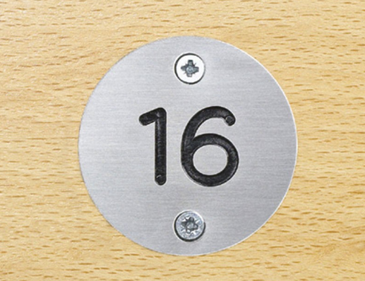stainless steel number plate manufacturer